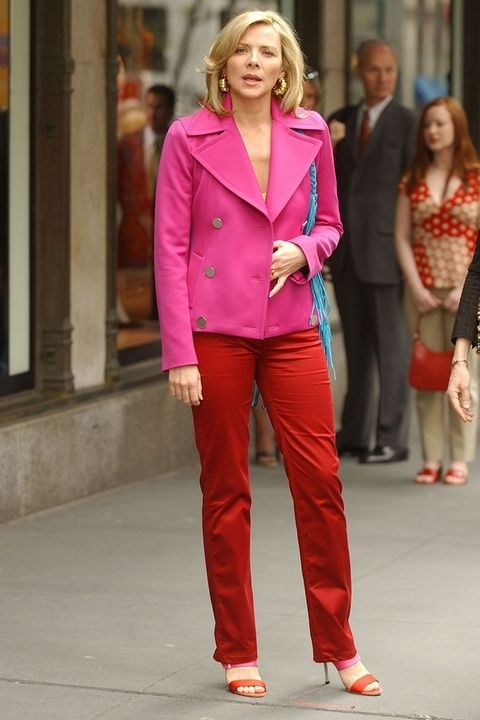 **SAMANTHA JONES, *SEX AND THE CITY*** <br><br> ...But not one to be overshadowed by Carrie is Samantha Jones, a PR executive who redefined boss-b**ch style for New York women. With her power suits, trendy accessories, and slinky night-out looks, Samantha deserves just as much style props as Carrie.