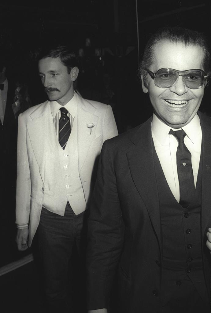 Jacques and Karl in 1989. Image by Guy Marineau.