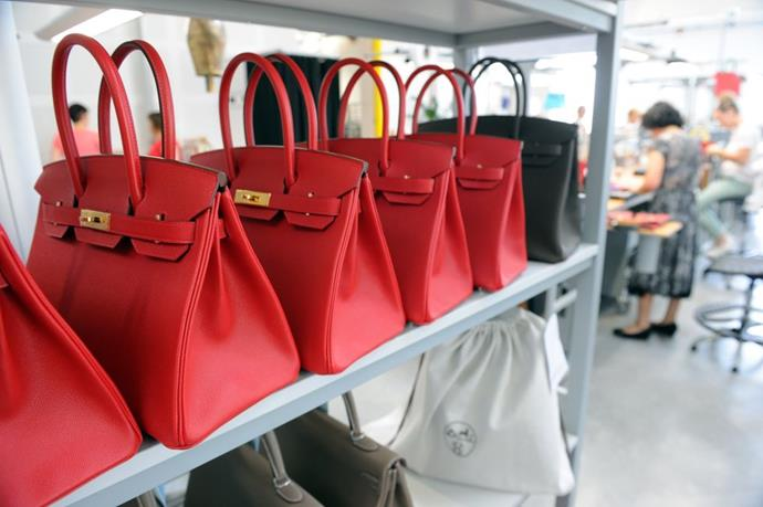 **It takes 48 hours to make a Birkin.** <br><br> All Birkins are crafted by a single artisan in one of the brand's workshops. It takes each artisan 48 hours of work to create a single bag.