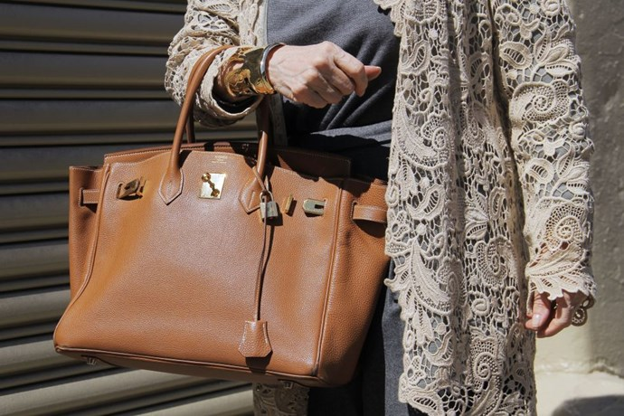 **Birkin bags start at around $8,500 USD.** <br><br> $8,500 will get you a leather Birkin with plain hardware. In 2001, when Samantha tried to purchase one in an episode of *Sex and the City*, a leather Birkin cost $4,000.