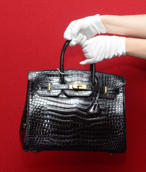 **Birkins are named according to size, colour and texture.** <br><br> For example, an *Hermés 25 Birkin Bag Togo* refers to a Birkin with a length of 25 centimetres, and crafted in the brand's signature grainy togo leather (togo, epsom, clemence, and chèvre are all different types of leathers that the brand uses).
