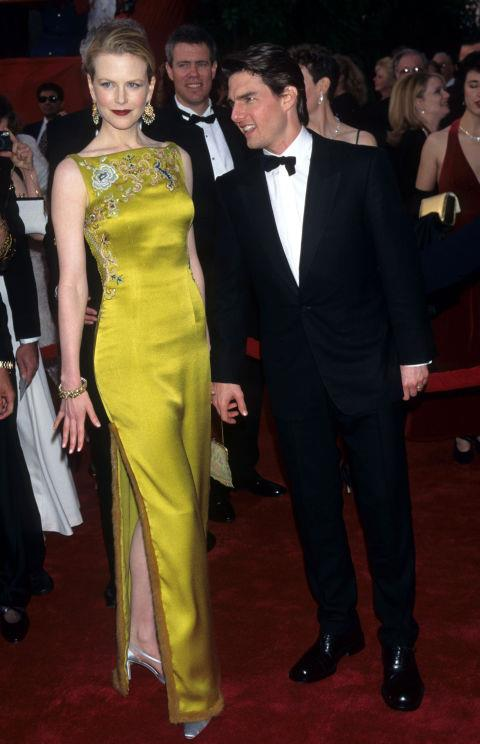 **NICOLE KIDMAN IN DIOR—$2.5 MILLION** <br><br> Nicole Kidman was reportedly paid approx. $2.5 million to wear this yellow, chinoiserie-embroidered Dior gown designed by John Galliano.