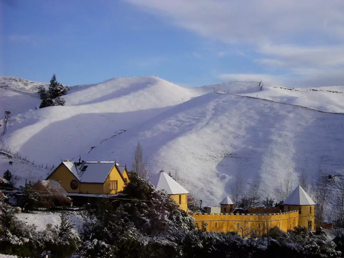 **[The Mudcastle](https://www.airbnb.com.au/rooms/494233), Nelson, New Zealand** <br> <br> **From $1,905 a night, sleeps 16** <br> <br> Surrounded by wineries, beaches and mountains, there's no location more fitting for a fairytale-style wedding.