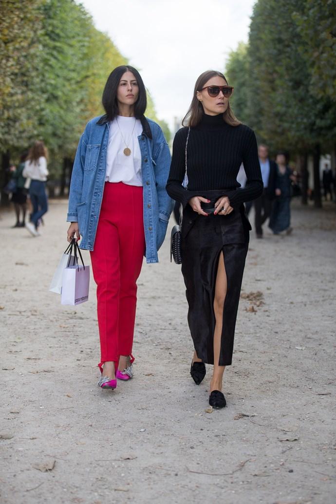 Gilda Ambrosio at Paris Fashion Week