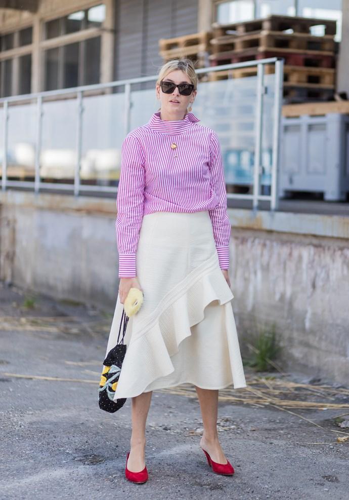 Camille Charriere at Copenhagen Fashion Week