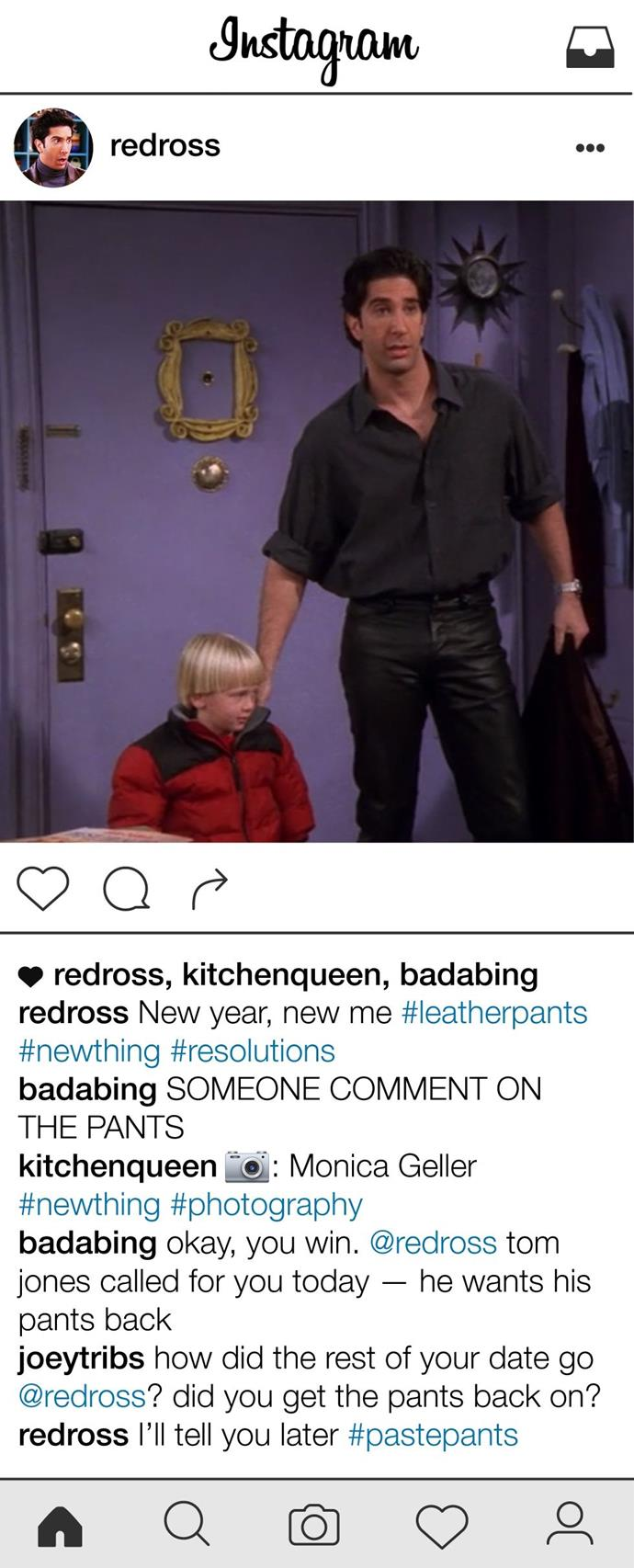 **The One Where Ross Brags About Expanding His Horizons and It Backfires**