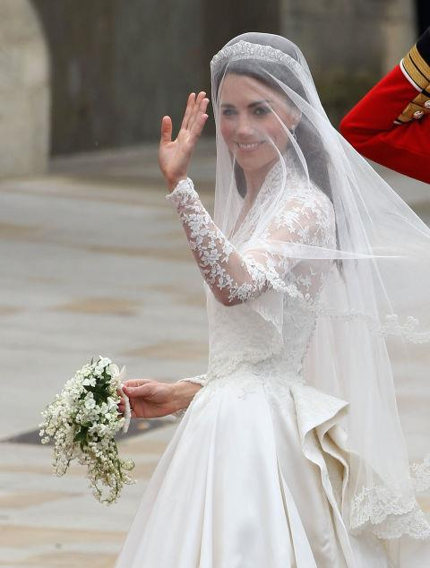 **A ROYAL WEDDING BOUQUET MUST CONTAIN MYRTLE.** <br><br> Every Royal bride carries **myrtle** in her wedding bouquet.
