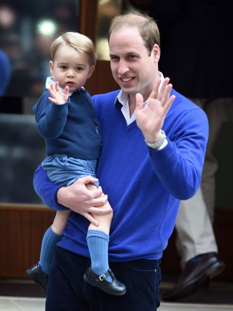 **TWO HEIRS AREN'T ALLOWED TO TRAVEL TOGETHER.** <br><br> Once Prince George turns 12, he and Harry will have to fly separately.