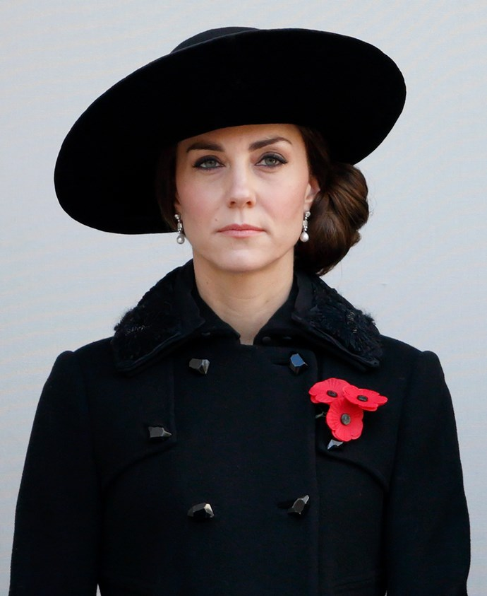 **WHEN A ROYAL TRAVELS ABROAD, THEY'RE REQUIRED TO PACK AN ALL-BLACK OUTFIT.** <br><br> Every family member must be prepared with a funeral-appropriate ensemble, in case of a sudden death.