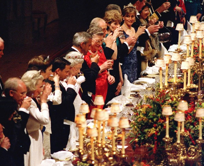 **EVENT SEATING IS VERY MUCH PLANNED.** <br><br> Seating is arranged by order of precedence at all Royal events, but factors like age, language and interests are accounted for when organising events.