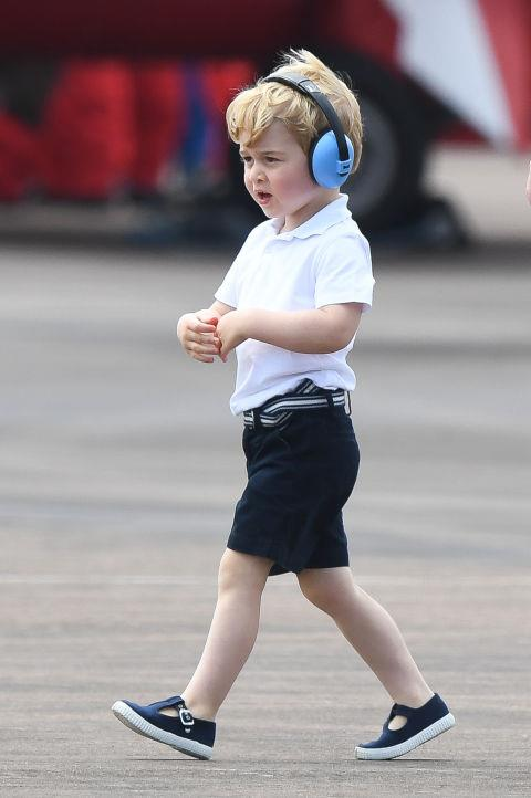 **THE FAMILY IS EXPECTED TO LEARN MULTIPLE LANGUAGES.** <br><br> Prince George has already learned to count in Spanish.