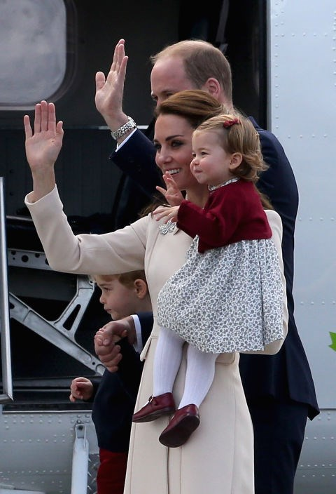 **EVEN THE CHILDREN ARE EXPECTED TO BE GRACEFUL.** <br><br> As soon as children are born into the Royal Family, they're immediately groomed to both wave and speak gracefully.