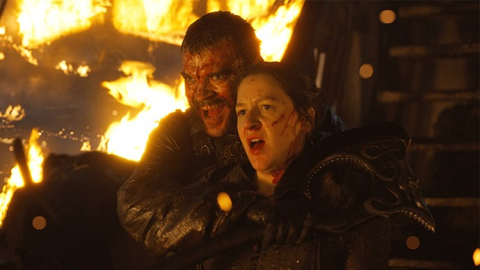 """**Euron Greyjoy / Pilou Asbæk** <br> <br> """"Drowning after the kingsmoot, over and over. The kingsmoot is in the books for a whole chapter, but that's not possible to do on a TV show with so many beautiful characters that we need to follow. So it's a little bit different. The funny thing about that scene, I did that in September, and the drowning and resurrection took one or two days to shoot. When you're underwater, and there's a guy pushing you down, and it's very, very cold, it's one of those challenges that you have to accept as an actor: This is what it is. This is what we're going to do."""""""