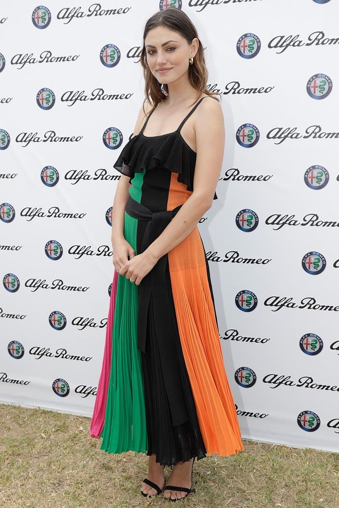 **January, 2017** <br><br> Attending the Portsea Polo.