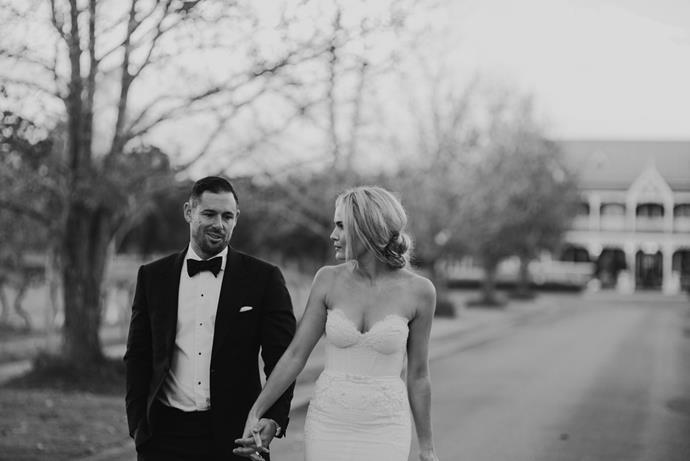 Brooke Testoni's wedding details. <br><br> Image: [Brooke Testoni](http://www.brooketestoni.com/2015/01/our-wedding/)