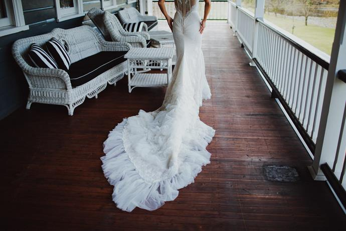 Brooke Testoni's wedding details. <br><br> Image: [Brooke Testoni](http://www.brooketestoni.com/2015/01/our-wedding/)