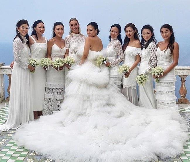 Feiping Chang's wedding details.