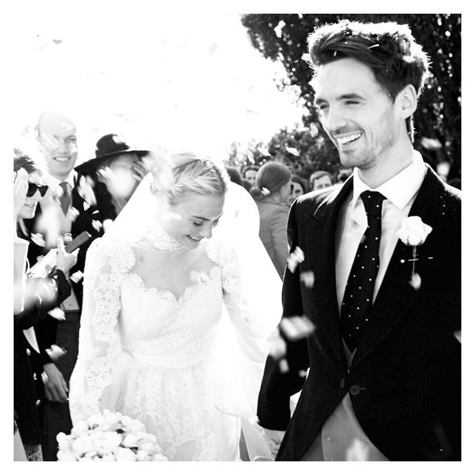 Pandora Sykes' wedding details.