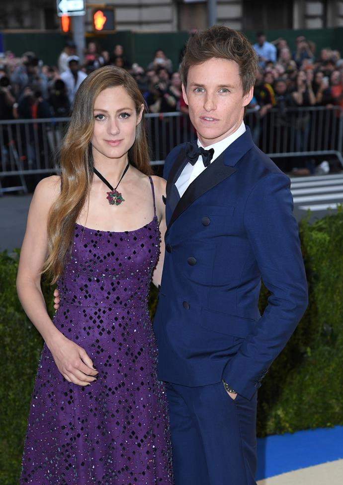 **Eddie Redmayne and Hannah Bagshawe** <br><br> Redmayne married public relations executive, Hannah Bagshawe in 2014. The two met while studying at Eton College and started off as friends, before deciding to take their relationship to the next level. They have one daughter.