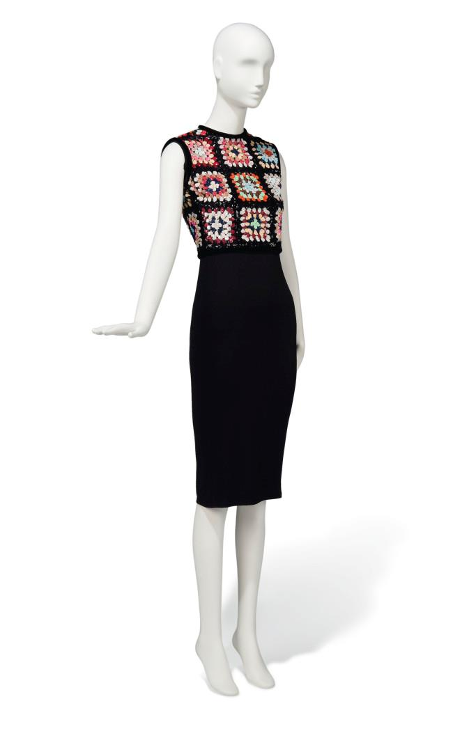 Audrey Hepburn's Valentino sequinned bodice from the '70s.