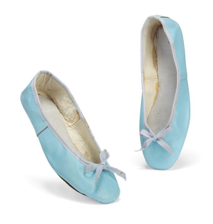 Audrey Hepburn's ballet flats from the '60s.