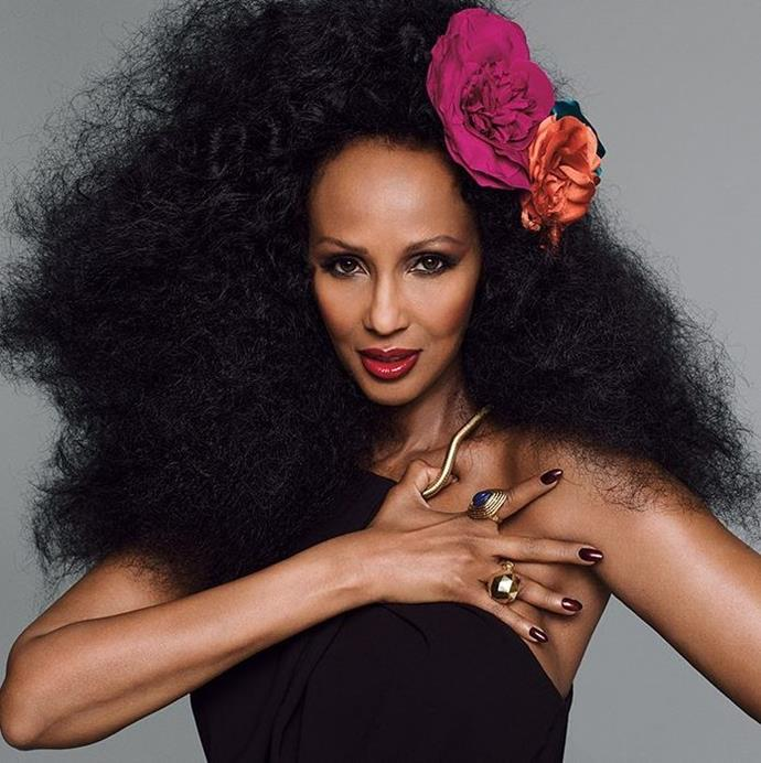 **IMAN Cosmetics, Iman** <br><br> One of the most iconic supermodels of the '90s, Iman, has her own eponymous beauty line. The model's inclusive shade range has defined the collection as a must-have for all.