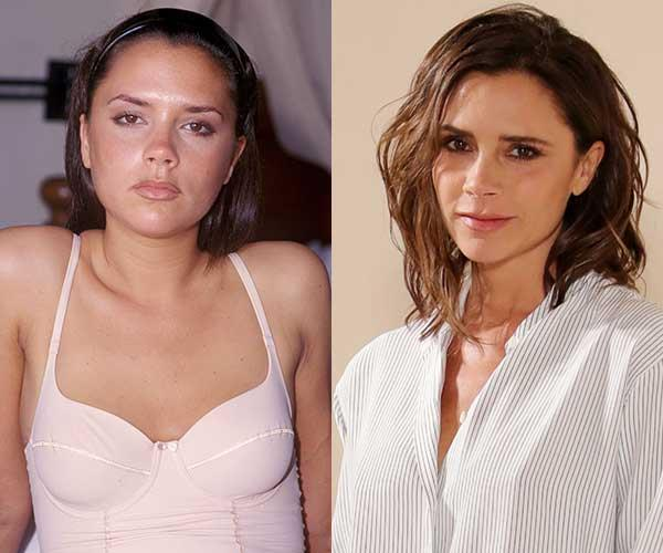 **Victoria Beckham** <br><br> From Spice Girl to fashion designer, Victoria Beckham's new look reflects her new job description.