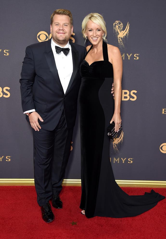James Cordon and Julia Carey