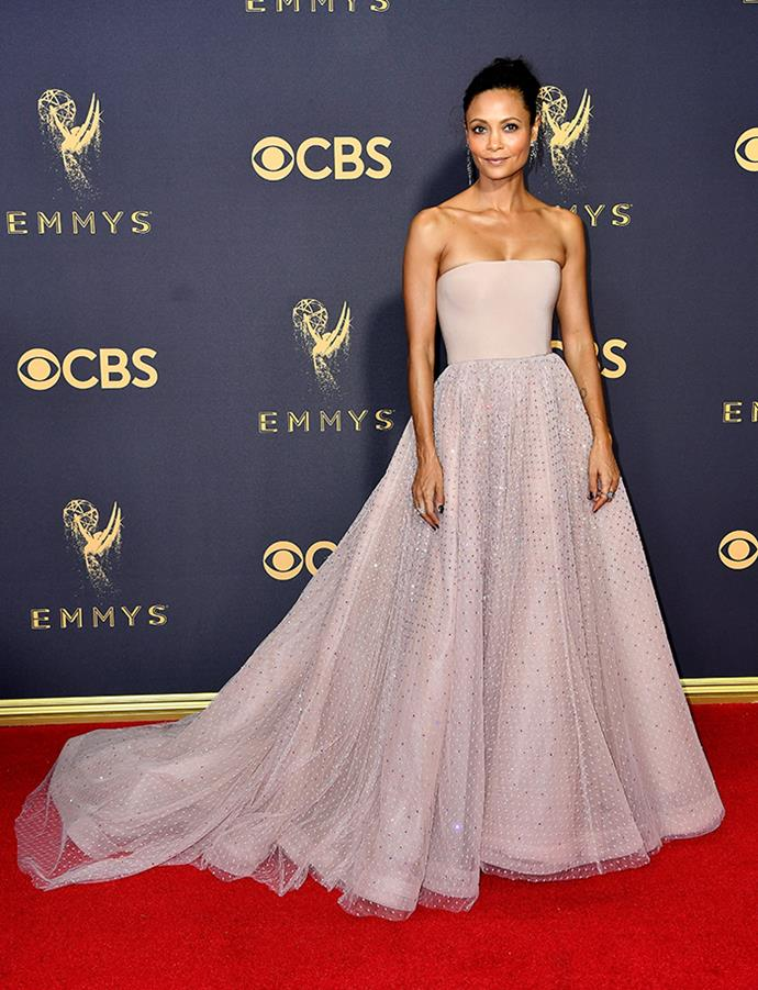 "**Thandie Newton in Jason Wu:**    ""Man, this woman never, ever gets it wrong on the red carpet. While she didn't take home the award in her category (that honour went to the outrageously good Ann O'Dowd), she did earn my vote for Best Dressed of the evening."" — Grace O'Neill, digital fashion editor"
