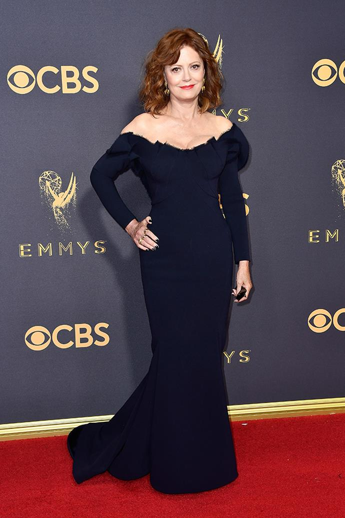"**Susan Sarandon in Zac Posen:**   ""Can I please look like this when I'm 70?"" — Jessica Matthews, deputy chief sub editor"