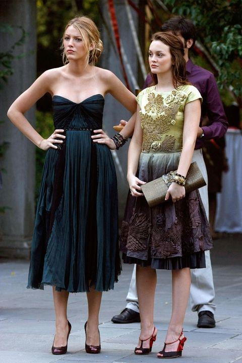 Serena van der Woodsen and Blair Waldorf