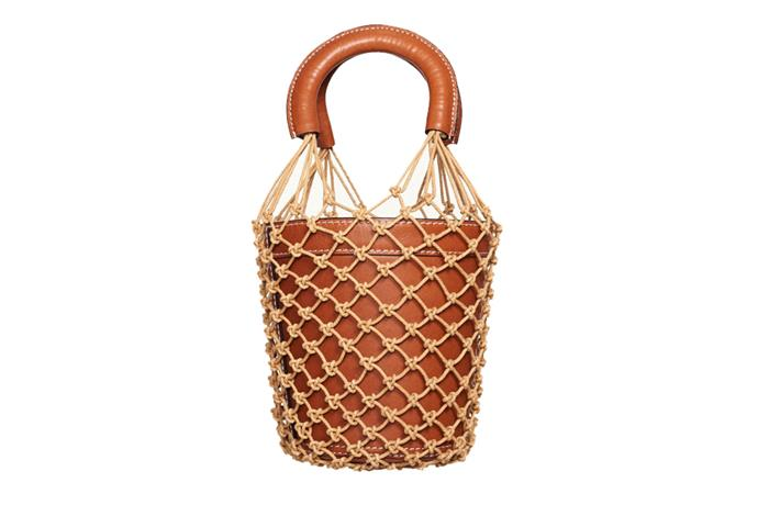 "**MOREAU BAG** by Staud <br><br> **It-worthy because:** Alexa Chung wore it with active wear on a [coffee run](http://www.starstyle.com/alexa-chung-east-village-sp294542/)—which is celebrity endorsement eerily reminiscent of the kind that defined It-bags in the early noughties. It was also a street style mainstay at [2018's Fashion Weeks](https://www.harpersbazaar.com.au/fashion/staud-moreau-bag-fashion-week-15803|target=""_blank""). <br><br> Bag, $375 at [Staud](https://staud.clothing/products/the-moreau-bucket-bag)"