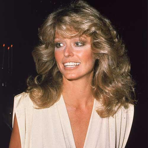 **Farrah Fawcett** <br><br> **Decade:** 1970s <br><br> Actress Farrah Fawcett's '70s flicks were, arguably, the defining hair trend of the decade.