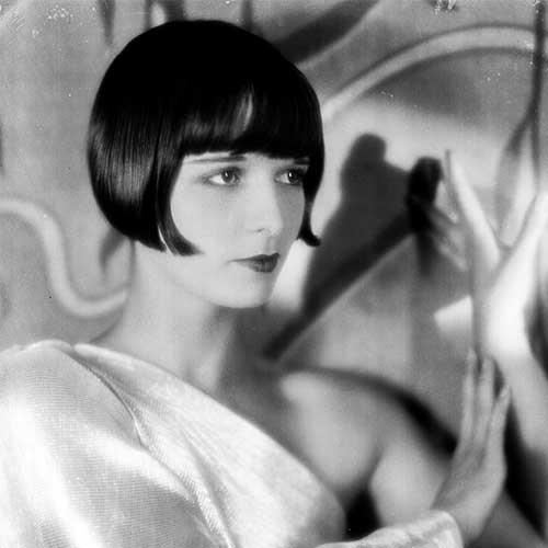 **Louise Brooks** <br><br> **Decade:** 1920's <br><br> In the 1920s, American actress Louise Brooks was one of the first adopters of the bob hairstyle that went on to define the decade.