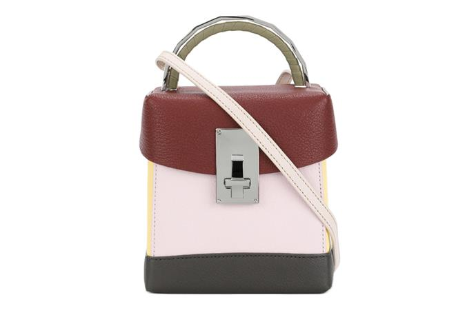 **MINI LUNCH BOX BAG** by Volon <br><br> **It-worthy because:** It's been spotted on the arms of tastemakers with serious fashion pedigree—Leandra Medine, Irene Kim and Olivia Palermo—not to mention, Net-a-Porter and Farfetch are now carrying it. <br><br> Bag, $1,280, Volon at [Net-a-Porter](http://rstyle.me/~a6eY8)