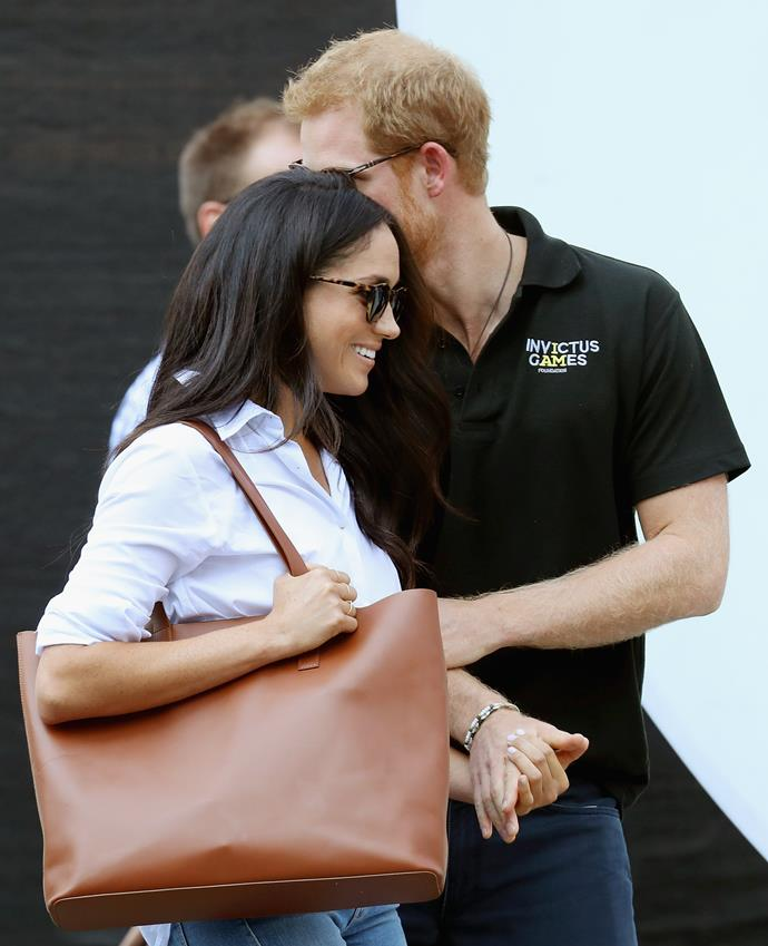 Prince Harry and Meghan Markle make their public debut at the 2017 Invictus Games in Toronto.