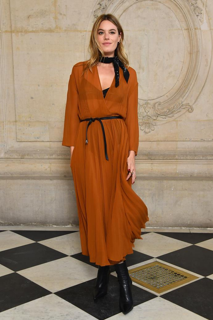 **The Front Row**<br><br>  Camille Rowe