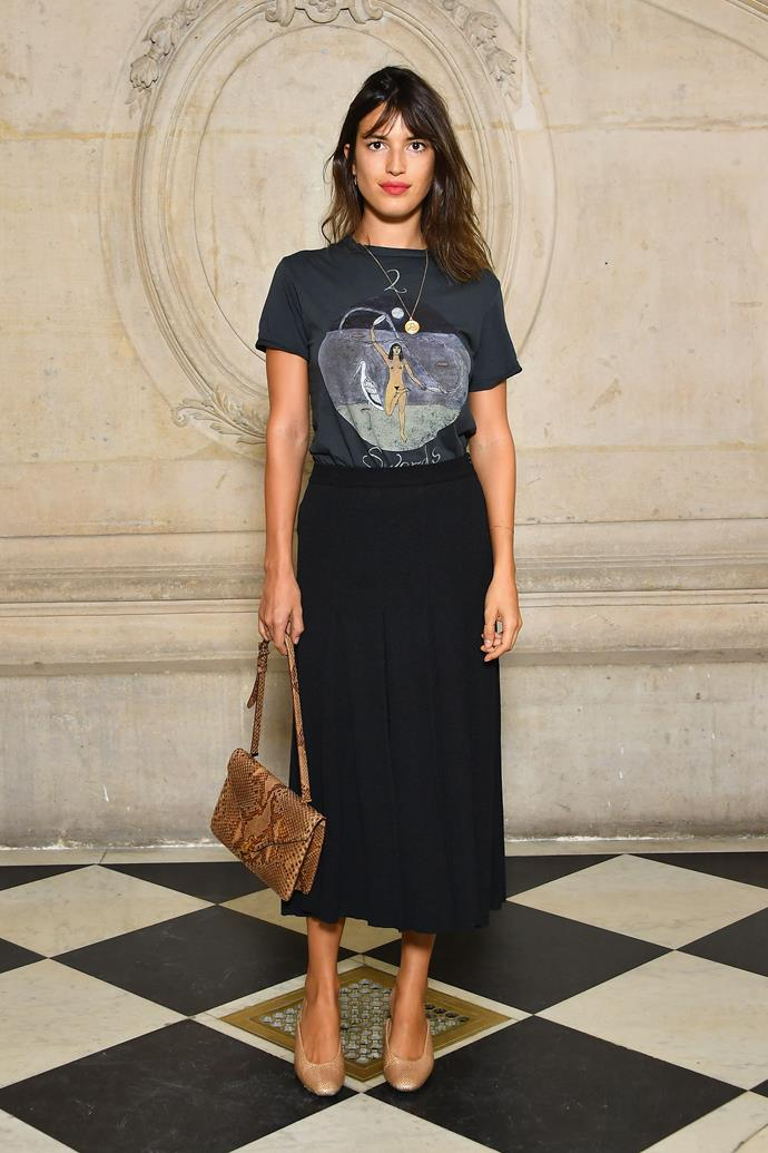 **The Front Row**<br><br>  Jeanne Damas