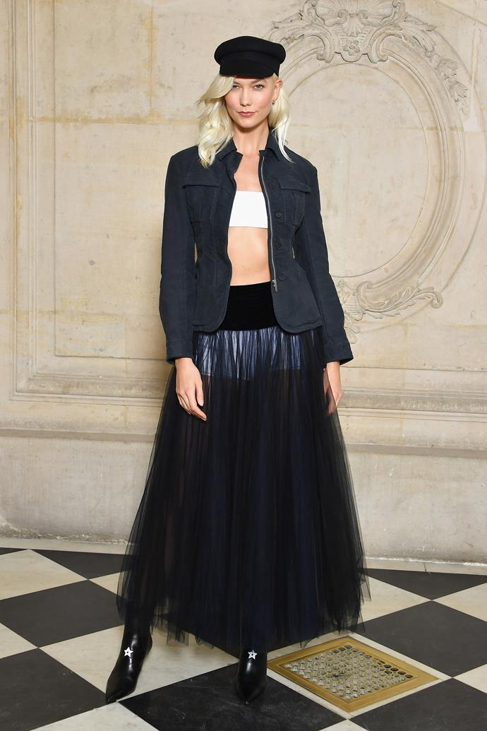 **The Front Row**<br><br>  Karlie Kloss