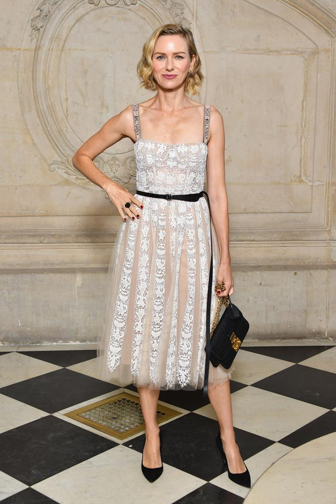 **The Front Row**<br><br>  Naomi Watts