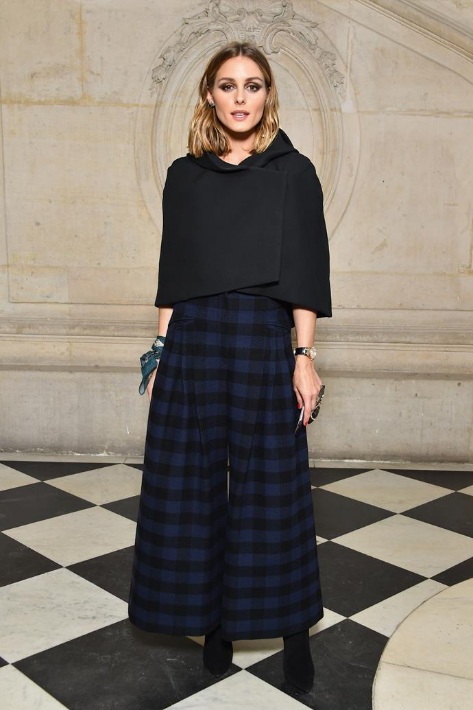 **The Front Row**<br><br>  Olivia Palermo