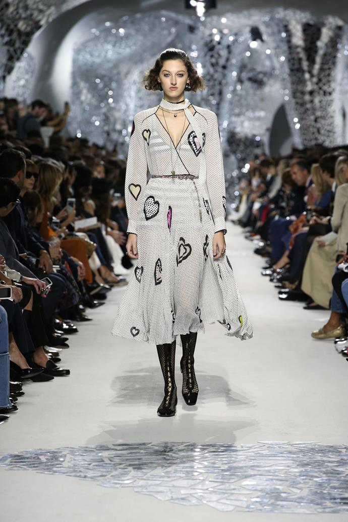 **The Runway**<br><br>  Dior spring summer '18