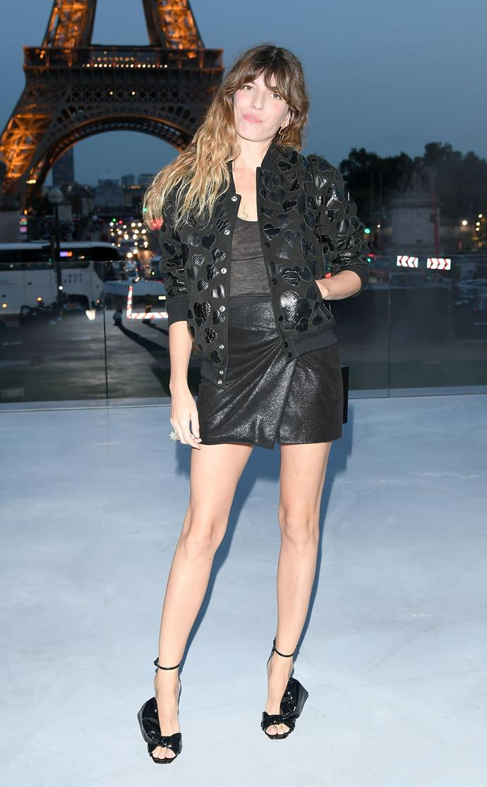 **The Front Row**<br><br>  Lou Doillon