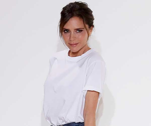 "**Victoria Beckham** <br><BR> In 2014, Beckham told *Allure* magazine that while she once had breast implants, they've since been removed. She said she decided to revert back to her original size after seeing a picture where her breast were ""up around"" her ""neck""."