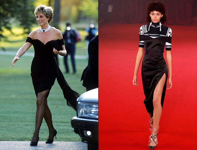 Diana, Princess of Wales in June, 1994 / Off-White spring summer 2018