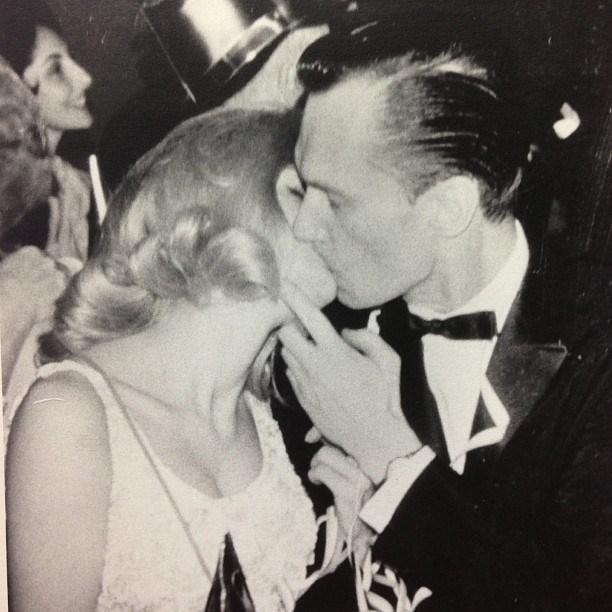 Hefner's New Year's Eve kiss in 1966. From [Instagram](https://www.instagram.com/p/cSMCGJGP-_/?taken-by=hughhefner).