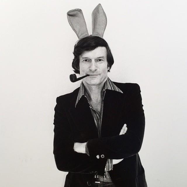 Mr. Playboy himself. From [Instagram](https://www.instagram.com/p/wkEK2-GP0I/?taken-by=hughhefner).