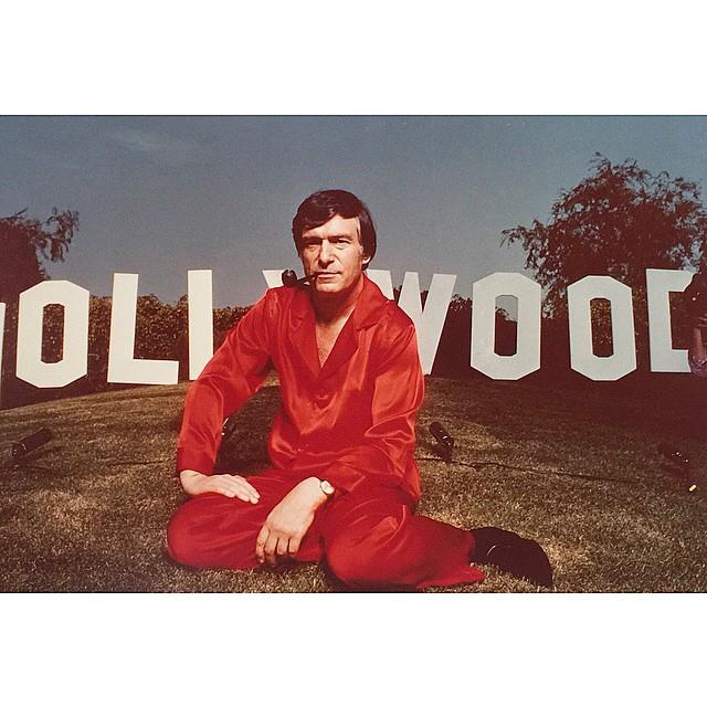 Photoshoot with *Interview Magazine* in 1978. From [Instagram](https://www.instagram.com/p/0f4pgmmP3V/?taken-by=hughhefner).