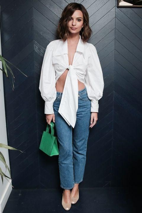 Emily Ratajkowski at the Chez Away Celebrates Paris Fashion Week With Grey Goose party.
