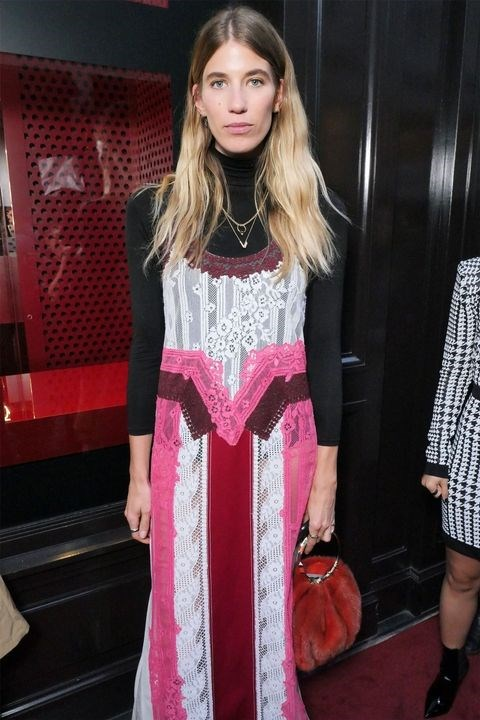 Veronika Heilbrunner at the Valentino 'I Love Spike' party.